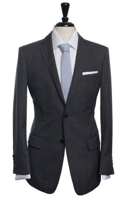 Holmes Grey Prince of Wales Check Suit