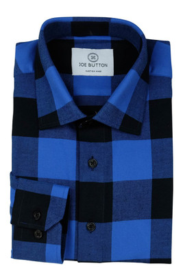 Taylor Blue and Black Flannel