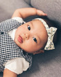 Haruka-Chelsea in our Chelsea Baby Bow Tie