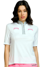 81111-Pinkterest-Short Sleeve Polo