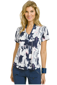 91107-MOONLIT-LIQUID PLAID POLO