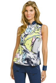 91218-TSUNAMI SLEEVELESS PRINT-921