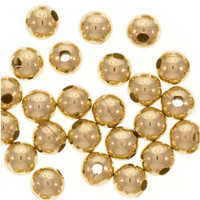 UnCommon Artistry 14k Gold Filled Little Round Beads 2.5mm (50)