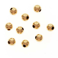 14K Gold Filled Seamless Round Beads 4mm (5)