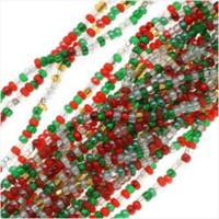 Czech Seed Beads 11/0 Deck The Halls Christmas Mix (1 Hank)