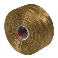S-Lon Beading Thread Size D - Gold