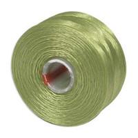 S-Lon Beading Thread Size D - Chartruese