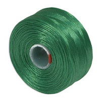 S-Lon Beading Thread Size D - Green