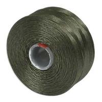 S-Lon Beading Thread Size D - Olive