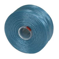 S-Lon Beading Thread Size D - Turquoise Blue