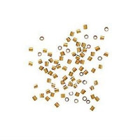 14Kt Gold Filled Crimp Beads 1x1mm (50)
