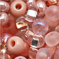 Czech Seed Beads 6/0 Rose Garden Mix (1 ounce)