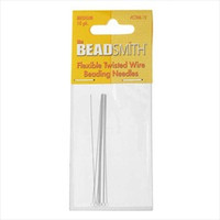 Beadsmith Beading Needles Flexible Twisted Medium (10)