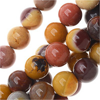 Mookaite 8mm Round Beads 16 In.Strand