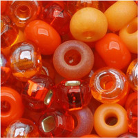 Czech Seed Beads 6/0 LA Sunset Mix (1 ounce)