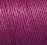 Waxed Irish Linen - 4 ply - Magenta (10 yds)