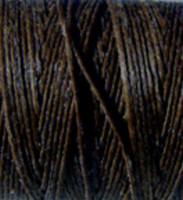 Waxed Irish Linen - 4 ply - Dark Chocolate (10 yds)