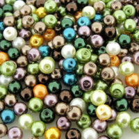 UnCommon Artistry Glass Pearl Mix 200pcs 6mm- Forest Mix