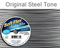 Soft Flex Best Beading Wire Steel Heavy .024 Inch 30 Feet