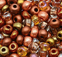 Czech Seed Beads 6/0 Non Cents-ical Mix (1 ounce)