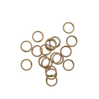 UnCommon Artistry Brass Closed 6mm Jump Rings 20 Gauge (25)