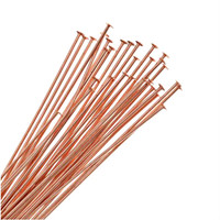 UnCommon Artistry®  Copper Plated Head Pins 21 Ga. 2 Inch (50)
