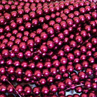 UnCommon Artistry Glass Pearl Beads 200pcs 4mm - Magenta