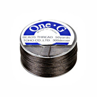 Toho One-G Beading Thread Brown, 50 Yard spool