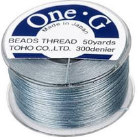 Toho One-G Beading Thread Gray, 50 Yard spool