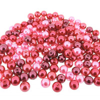 UnCommon Artistry Glass Pearl Mix 200pcs 6mm - Pink Fusion Mix