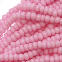 Czech Seed Beads Lilac Pink Opaque 11/0  (1 Hank)