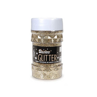 Darice Glitter Jar - Gold - 4 oz