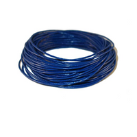 Bulk Package Genuine Royal Blue Leather Cord Round 2mm Diameter (100 meters)