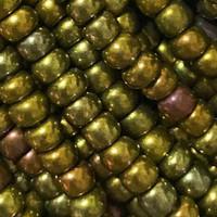 Czech Seed Beads 8/0 Copper Iris (1 ounce)