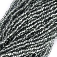 Czech Seed Beads  Black Diamond S/L, 11/0  (1 Hank)