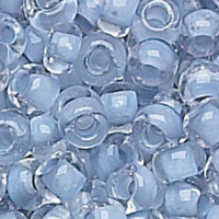 Czech Seed Beads 6/0 Crystal Alexandrite Lined (1 ounce)