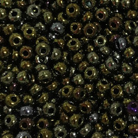 Czech Seed Beads 6/0 Brown Iris (1 ounce)
