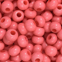 Czech Seed Beads 6/0 Salmon Opaque (1 ounce)