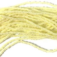 Czech Seed Beads 11/0 Vanilla Ceylon (1 hank)