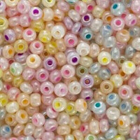 Seed Beads 8/0 Pastel Pearl Mix (1 ounce)