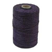 Waxed Irish Linen - 2 ply - Plum (50 gram spool)