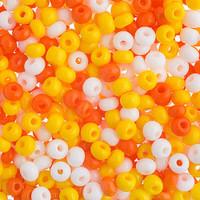 Czech Seed Beads 6/0 Candy Corn Mix (1 ounce)