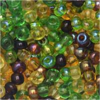 Czech Seed Beads 6/0 Earth Tones Mix (1 ounce)
