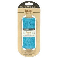 1mm Hemp Twine Bead Cord 20lb test Blue