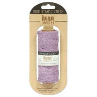 1mm Hemp Twine Bead Cord 20lb test Purple