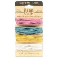 1mm Hemp Twine Bead Cord 20lb test Spring Color Shades