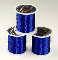 Elastic Stretchy Cord 30 Meters Cobalt