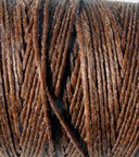 Waxed Irish Linen - 2 ply - Walnut Brown (10 yds)