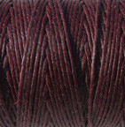 Waxed Irish Linen - 2 ply - Maroon (10 yds)