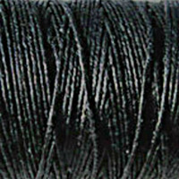 Waxed Irish Linen - 2 ply - Black (10 yds)